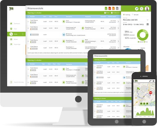 Fleet Management Account en App